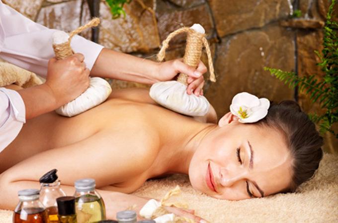 Русское фото массаж